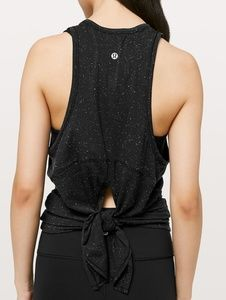 LULULEMON - Goal Up Tank/Black,White/10